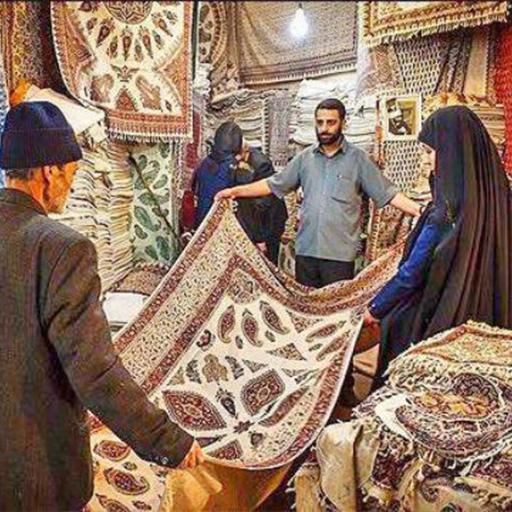طراحی دکوراسیون خانه با طرح های قلمکار سنتی ایرانی